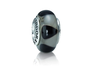Charm de plata de pieza de joyas de señora marca PANDORA