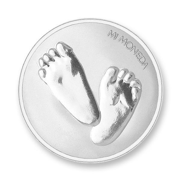 Foto de Baby feet te quiero silver plated S