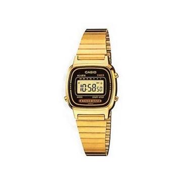 Reloj CASIO retro dorado