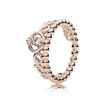 anillo corona de mi  princesa 180880CZ