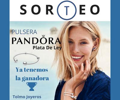 Resultado del sorteo Tolmo Joyeros, pulsera de Pandora.