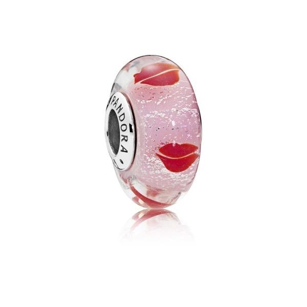 Charm PANDORA besos alrededor del cristal 796598