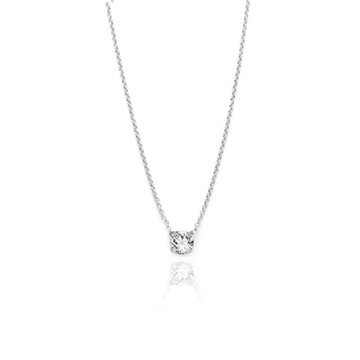 Colgante Swarovski blanco crystal