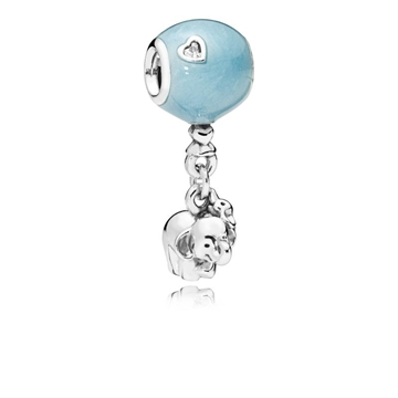 Charm PANDORA 797239EN169 elefante y globo azul