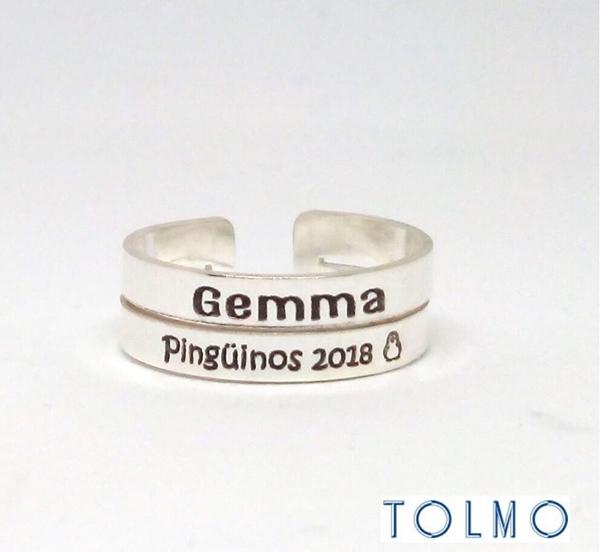 anillo personalizado para regalar