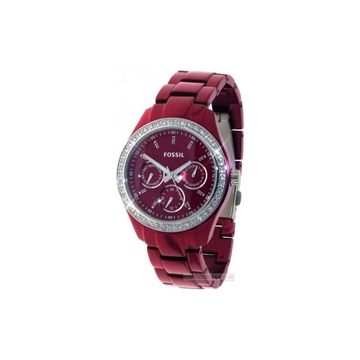 Foto de Reloj FOSSIL dress red
