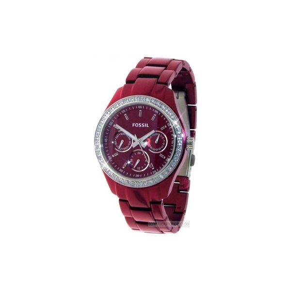 Foto de Reloj FOSSIL dress red