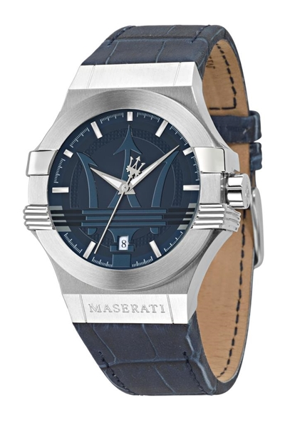 Foto de Reloj  MASERATI potenza blue dial blue strap
